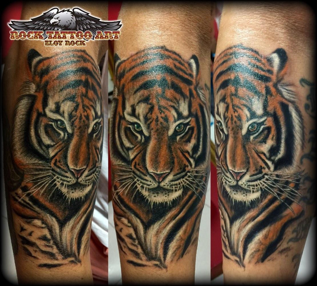 tattoo tigre de vengala realista